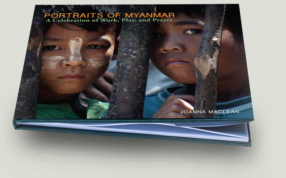 Portraits of Myanmar by Joanna Maclean