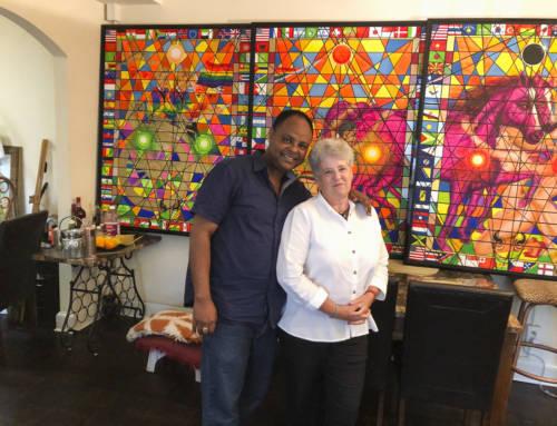 USA #1 – Meeting Wasihun, Ethiopian artist