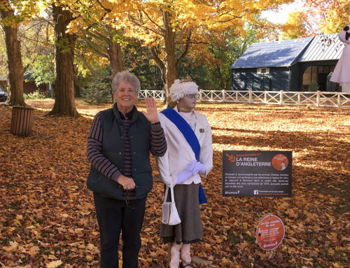 Canada #1 – Scarecrows, scenery and scarlet coats in Bromont